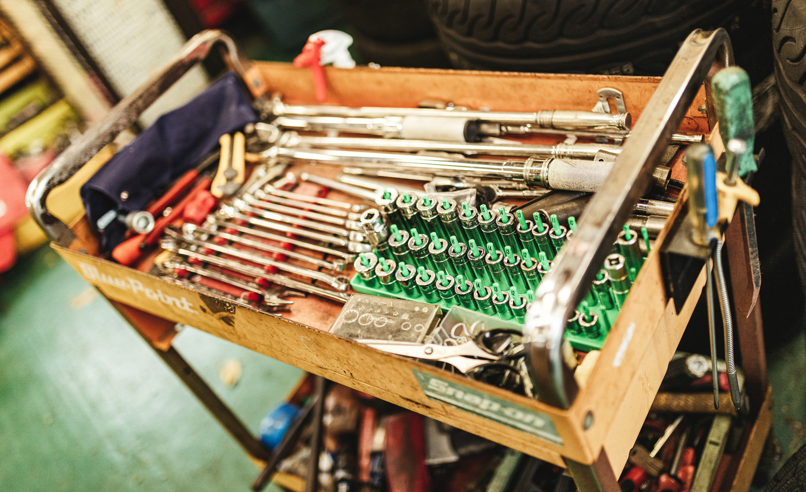 「工具箱一式」の写真