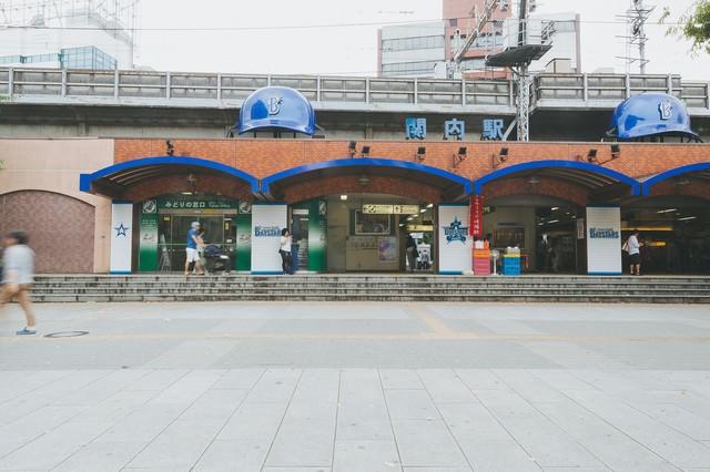 関内駅前正面の写真