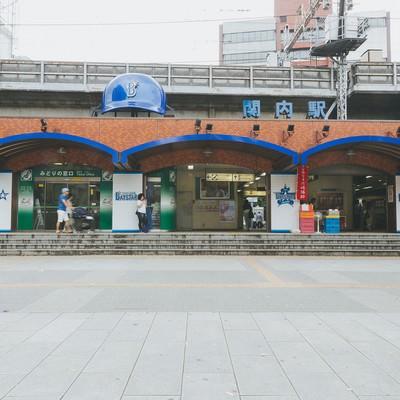 「関内駅前正面」の写真素材