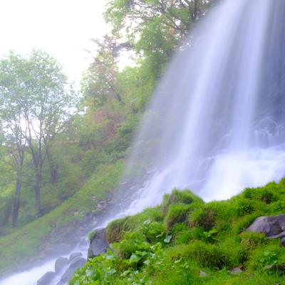 横谷峡の乙女滝の写真