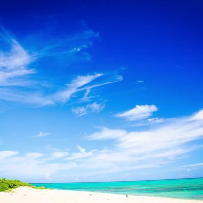 「石垣島のビーチ」の写真素材