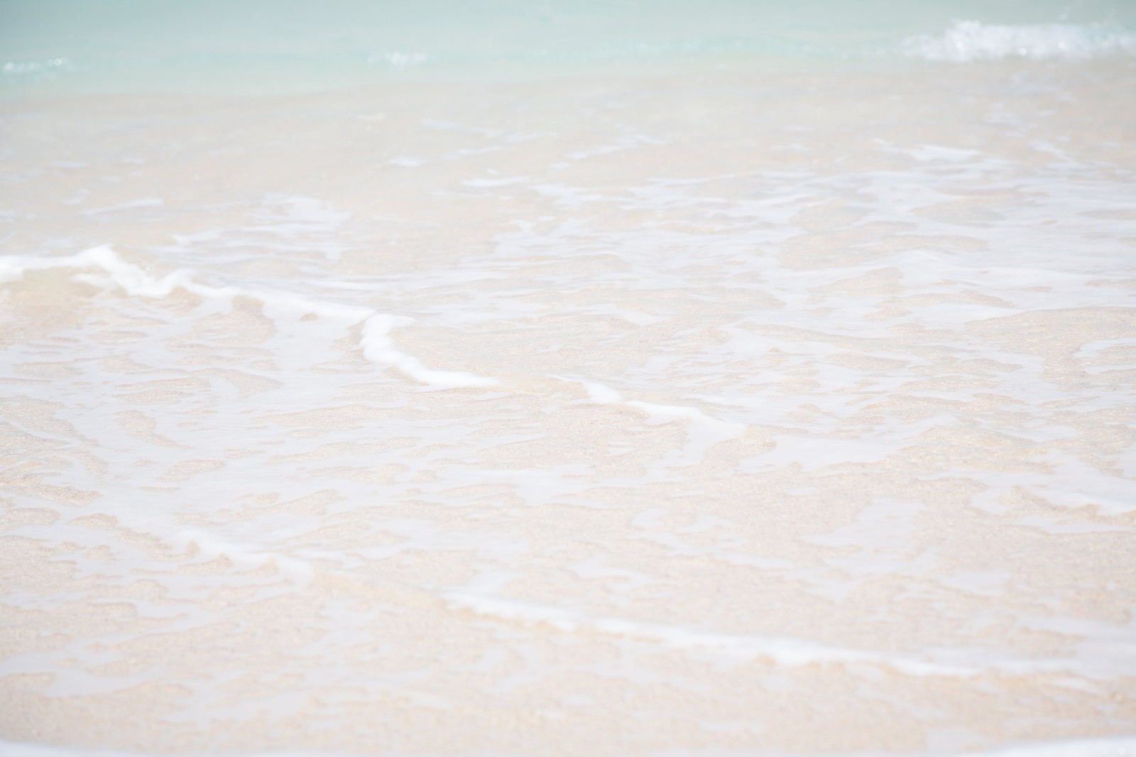 「砂浜の波」の写真