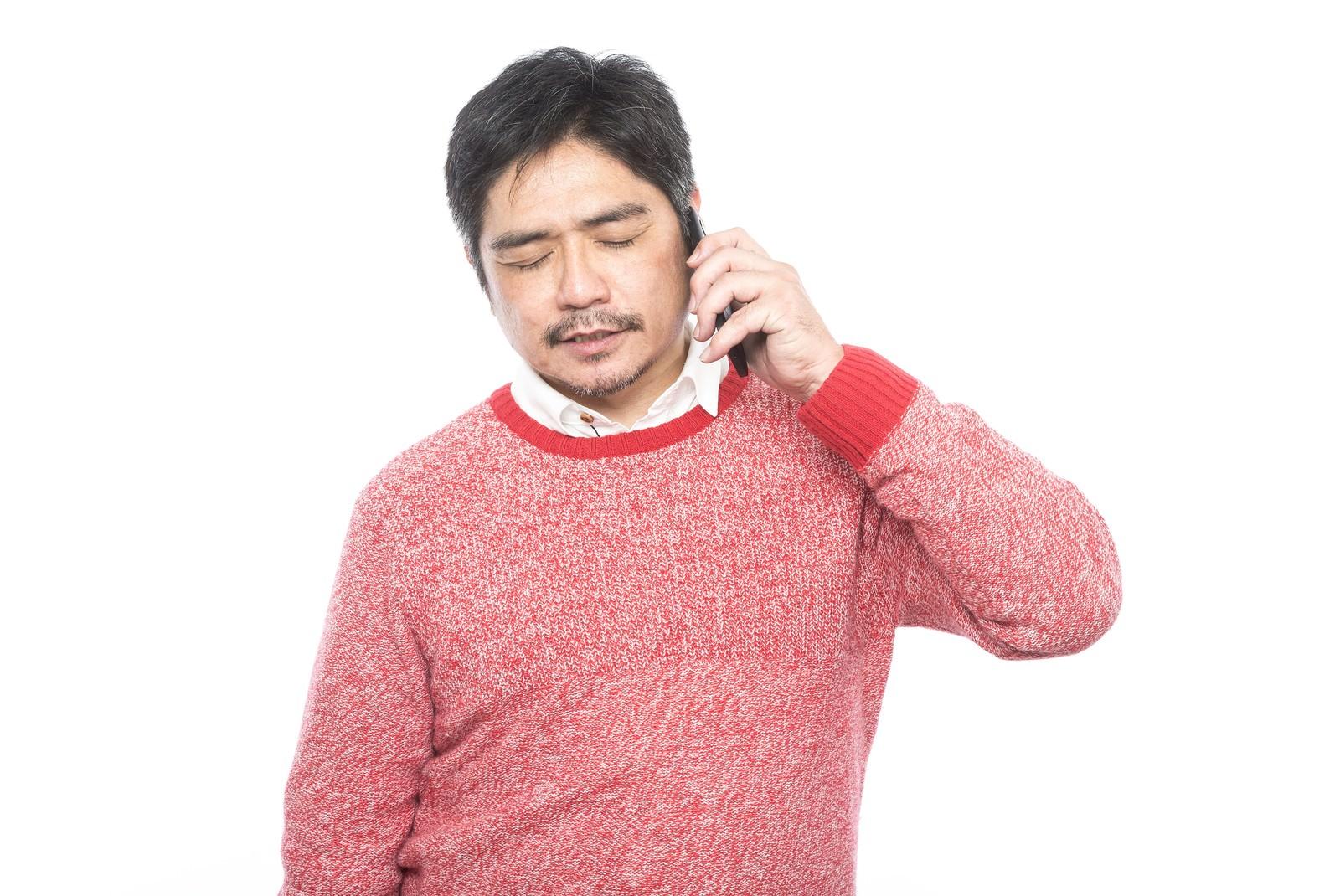 「娘からの電話は大抵お金の話」の写真[モデル:よたか]