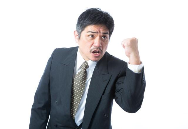 競争入札で勝利した企画部長の写真