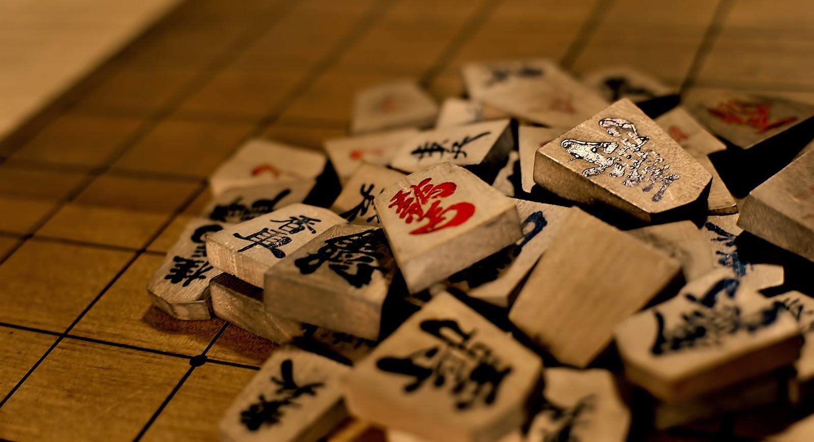 「崩し将棋」の写真