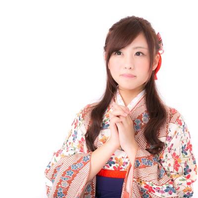 「日本の将来を担う新成人」の写真素材