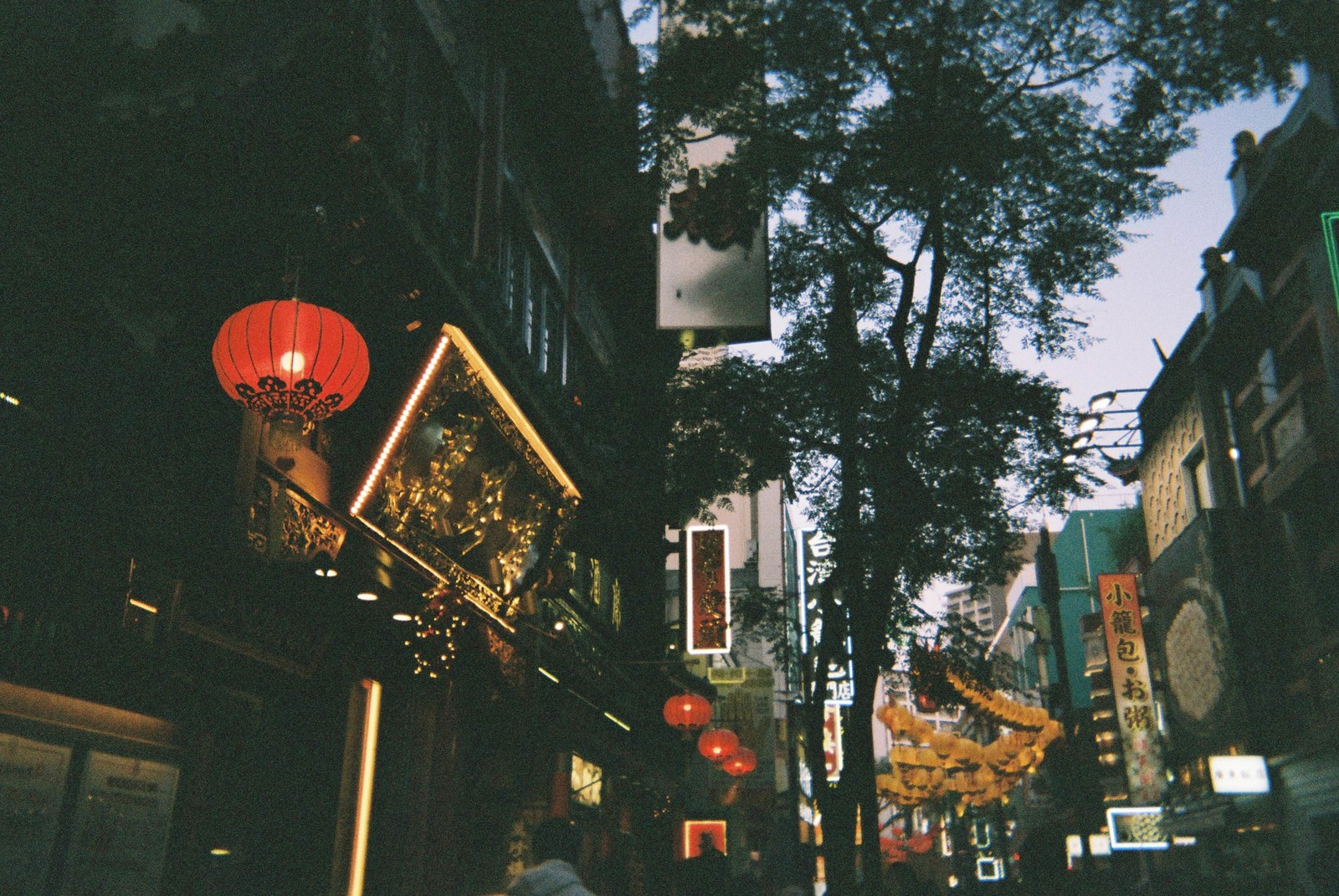 「中華街の路地」の写真