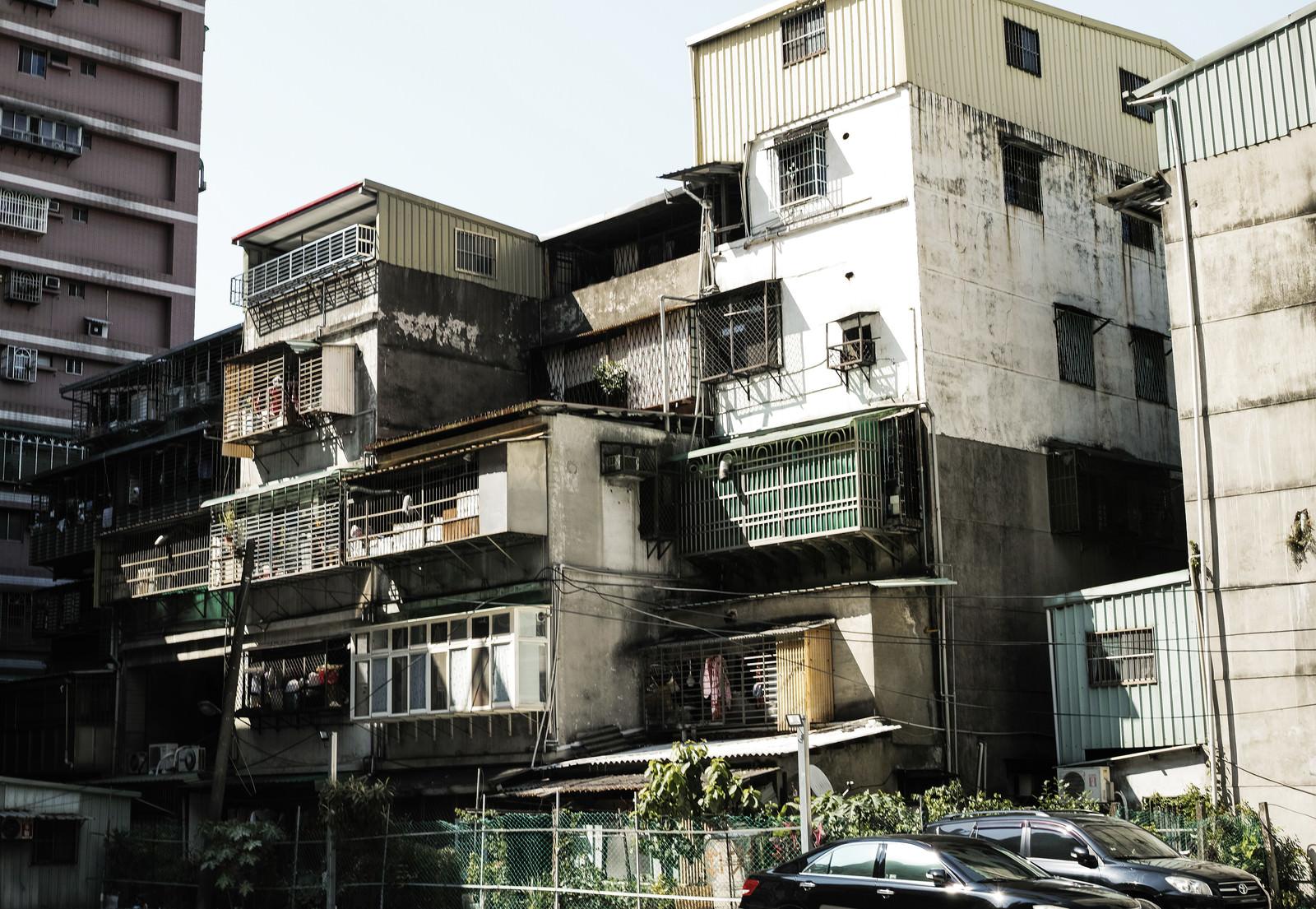 「サンチョンにある住宅棟(台湾)」の写真