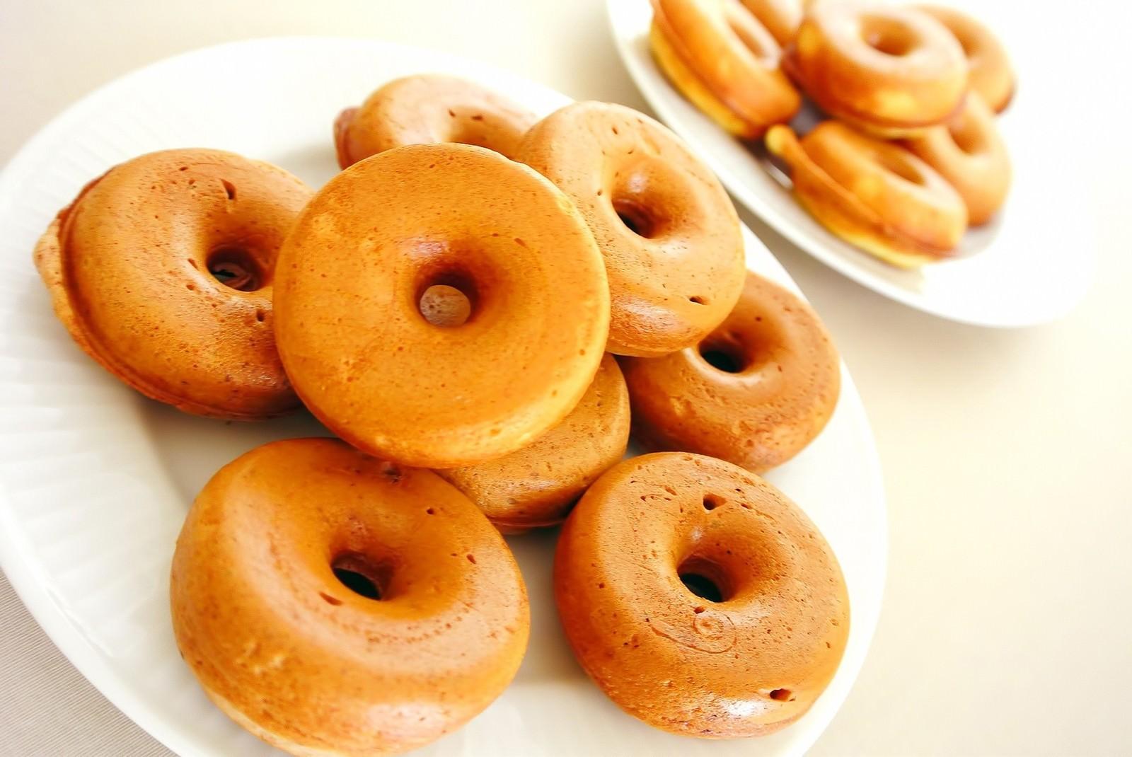 「焼きドーナツ」の写真