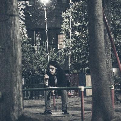 「今夜はおひとりさま」の写真素材