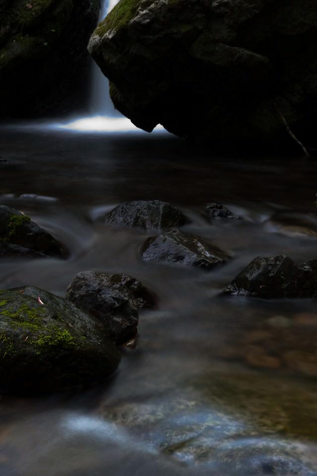 滝壺の写真
