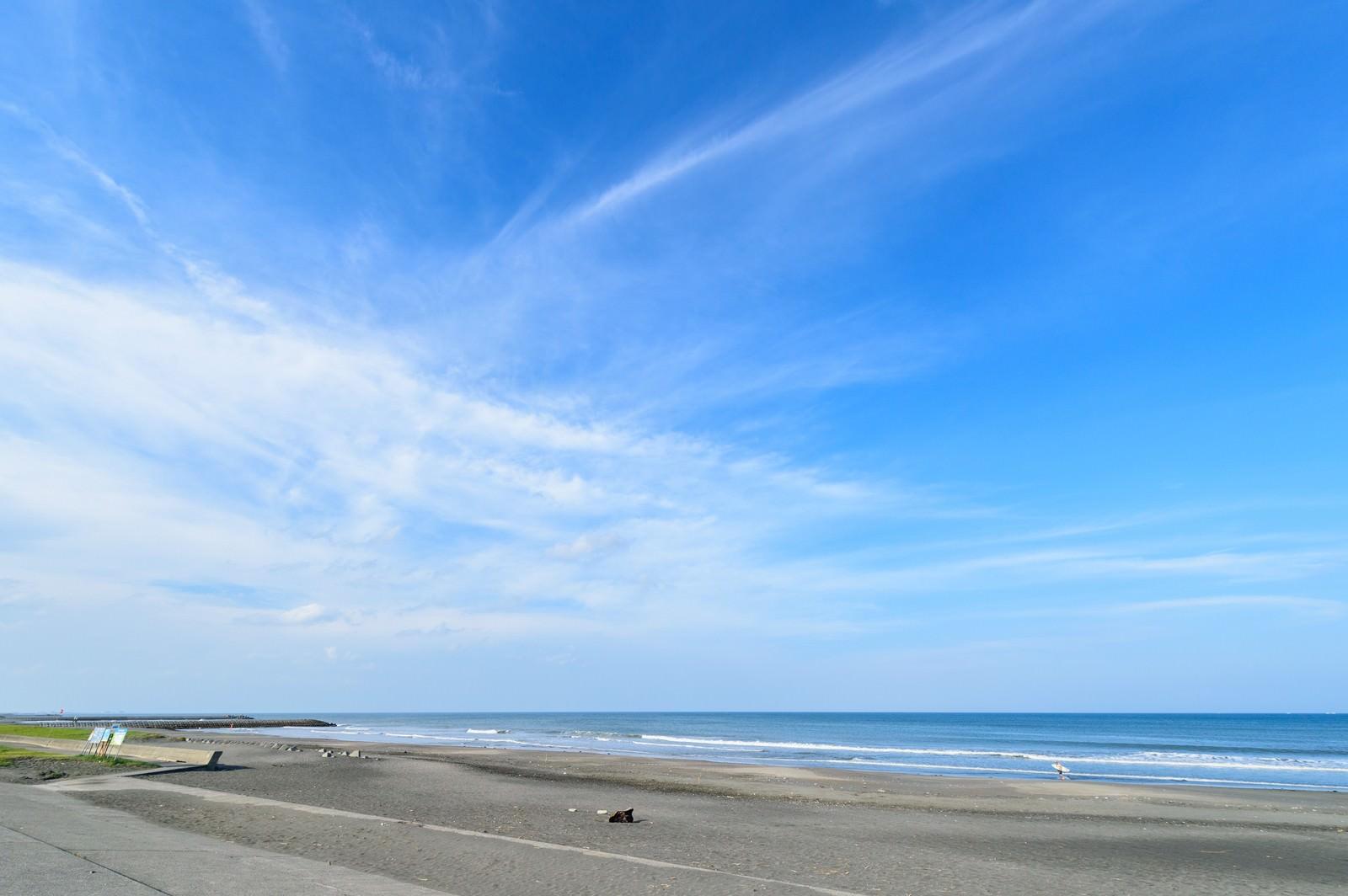 「千葉県一宮町にある東浪見海岸」の写真