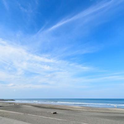 千葉県一宮町にある東浪見海岸の写真