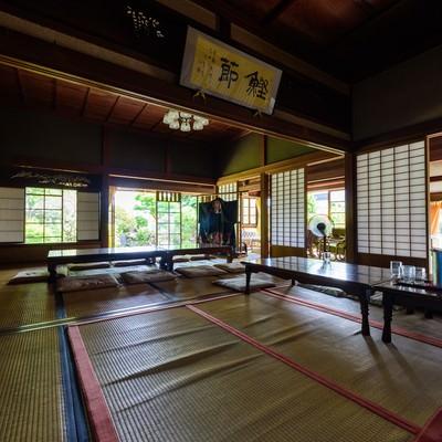 歴史を感じる旧寿屋本家の畳の間(千葉県一宮町)の写真