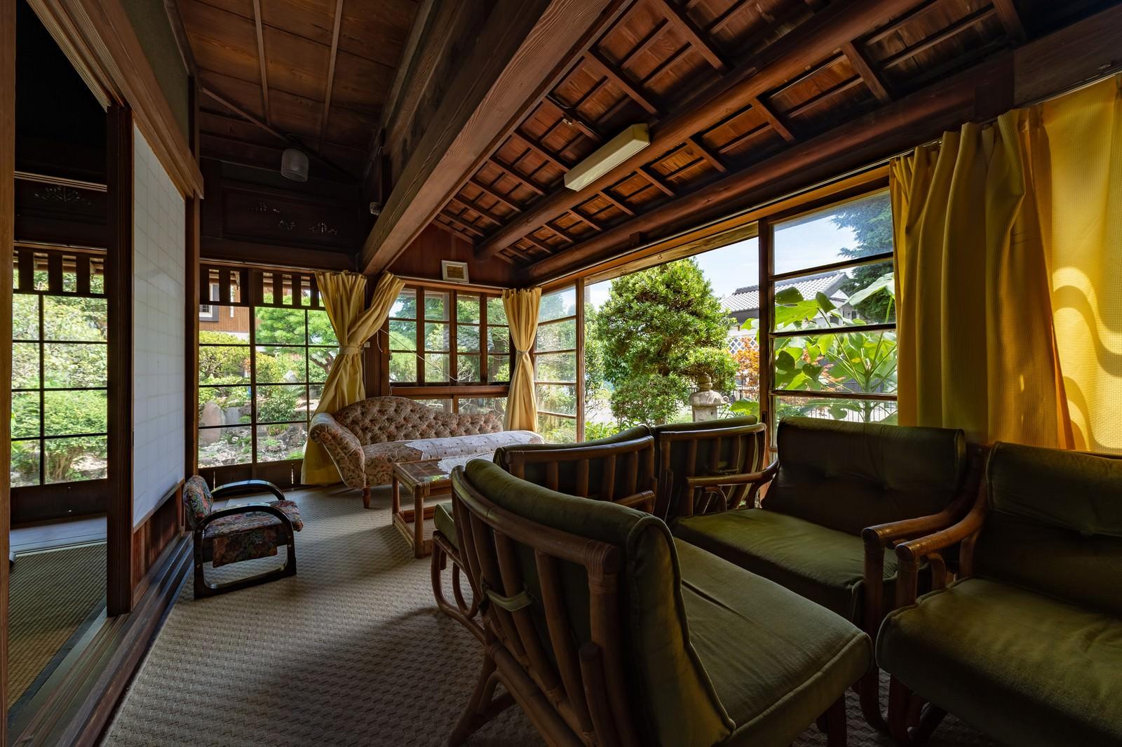 「旧寿屋本家のサンルーム(千葉県一宮町)」の写真