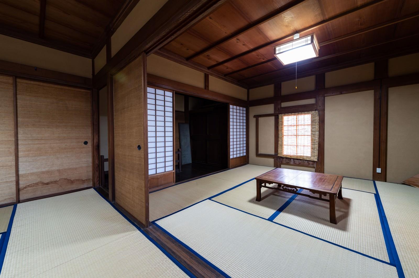 「畳の和室(千葉県一宮町)」の写真