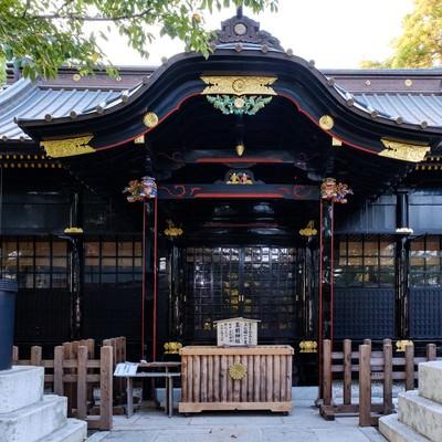 玉前神社の本殿(千葉県一宮町)の写真
