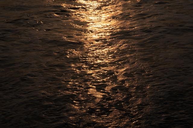 一宮海岸の海の表情(千葉県一宮町)の写真