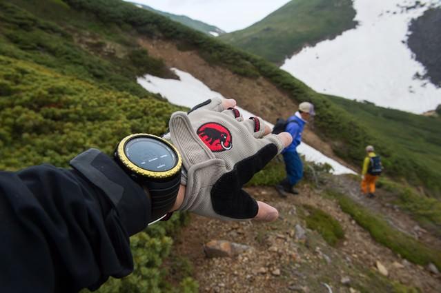 標高2,531mがスタート地点・乗鞍新登山道整備の写真