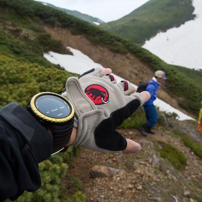 「標高2,531mがスタート地点・乗鞍新登山道整備」の写真素材