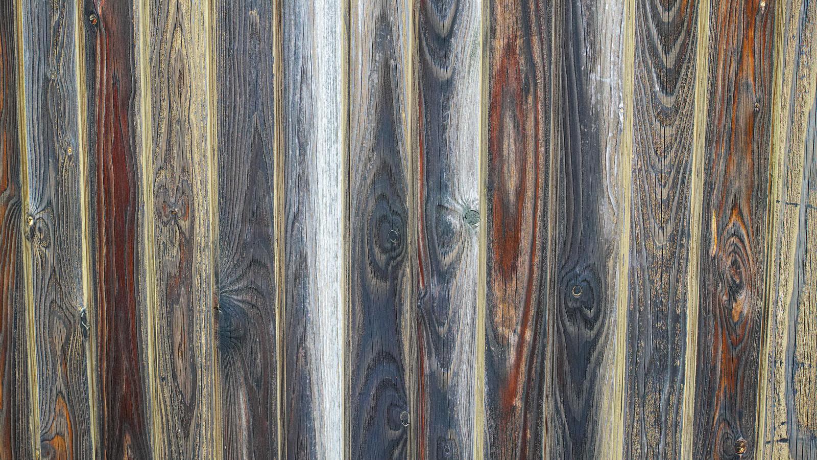 「カラフルな木目のテクスチャ」の写真