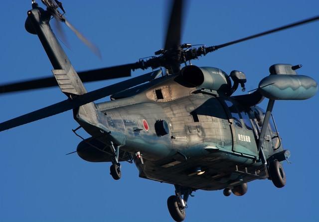 航空自衛隊救難隊のUH-60の写真