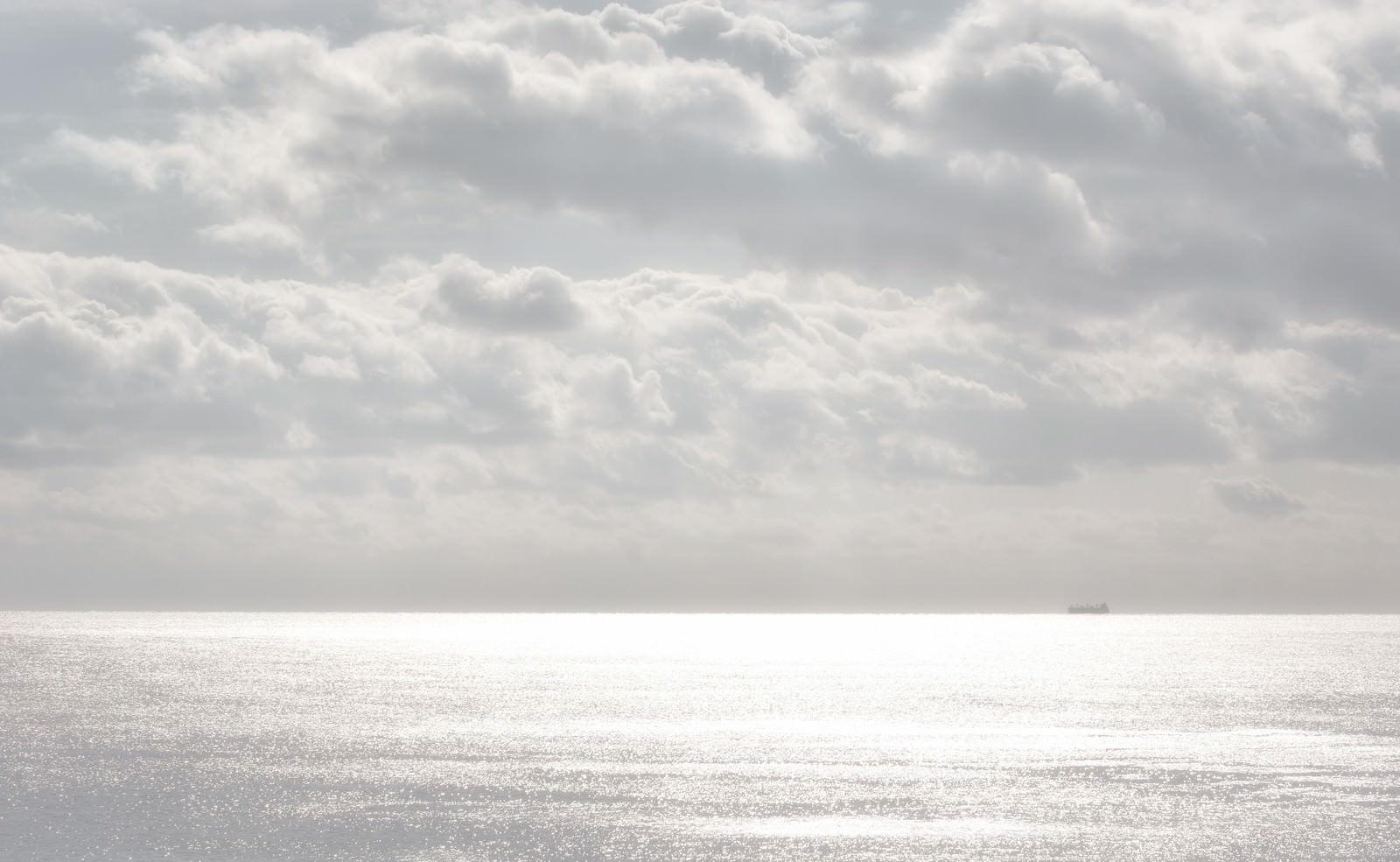 「冬の宮崎の海」の写真