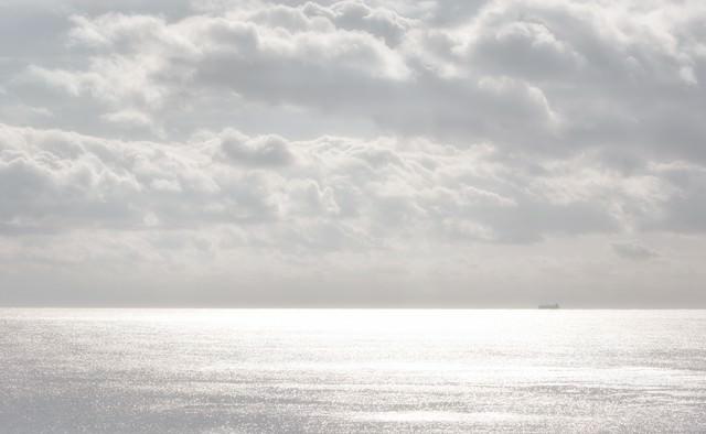 冬の宮崎の海の写真