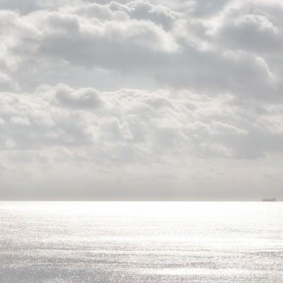 「冬の宮崎の海」の写真素材