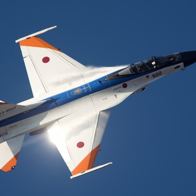 「輝きをまとい進む!ADTWのF-2A」の写真素材