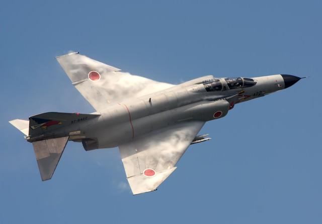 百里基地302飛行隊F-4の写真