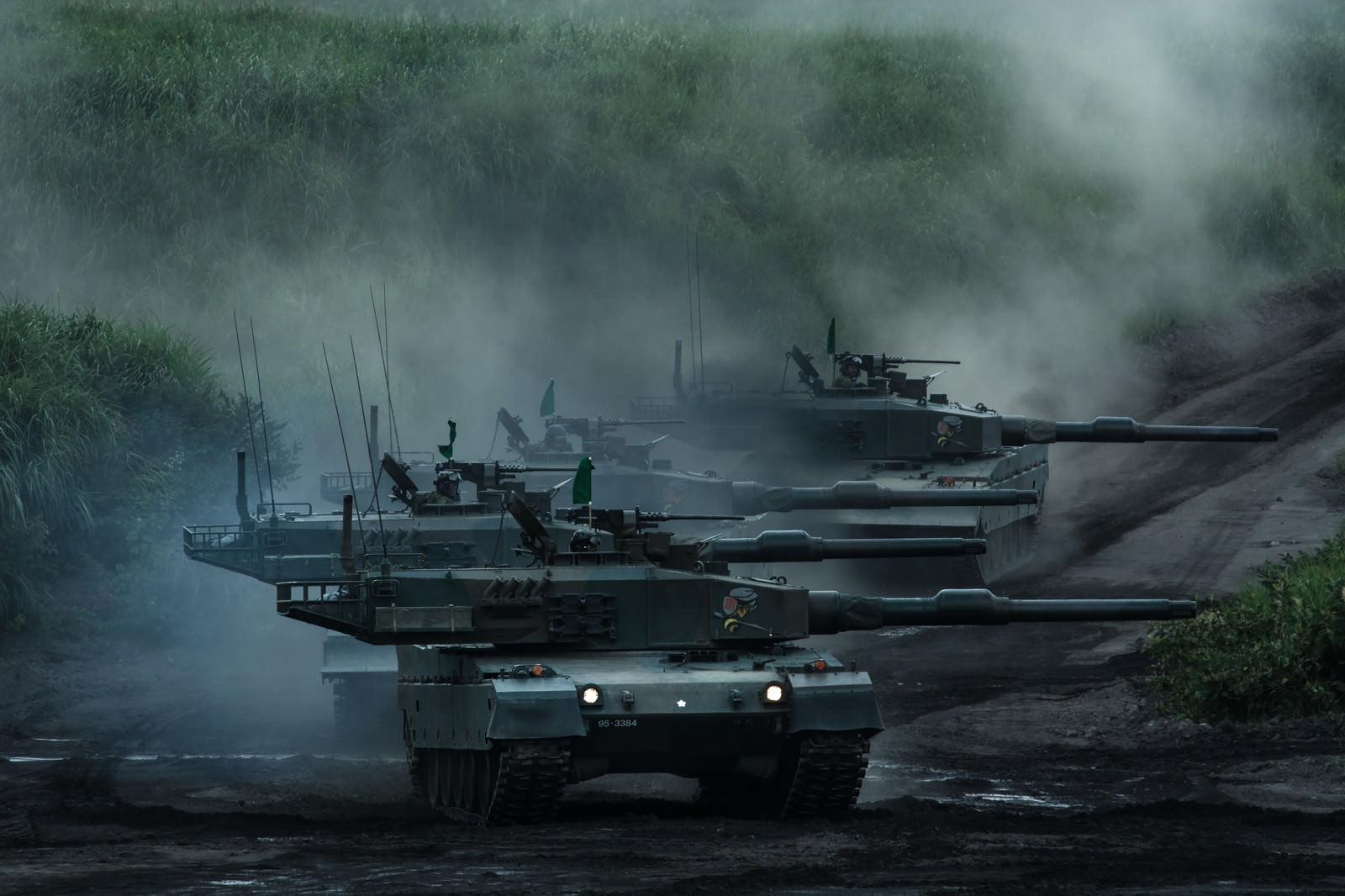 ミリタリー自衛隊戦車