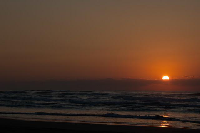 もうすぐ日が沈むの写真