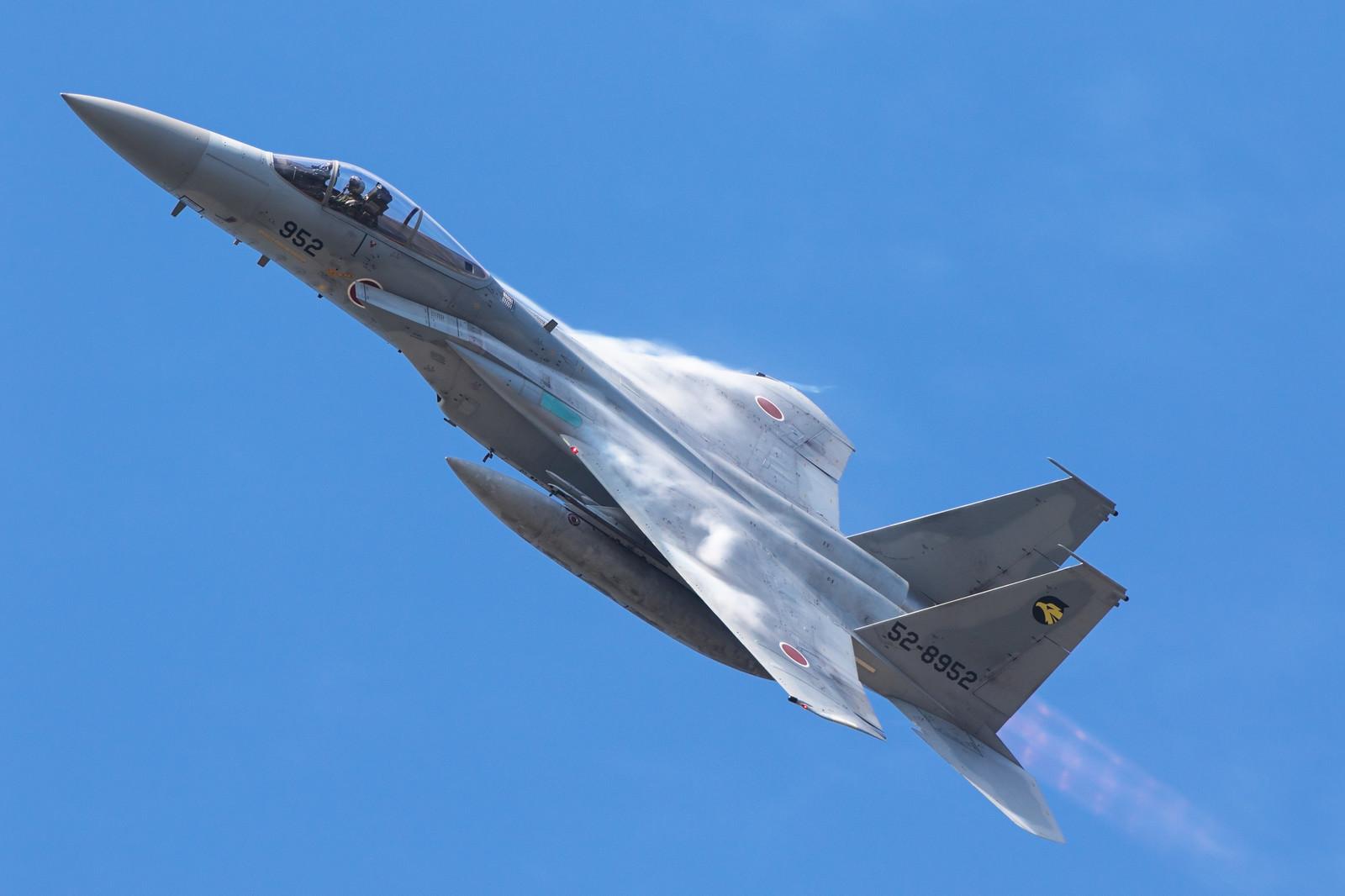「北陸の空を舞うF-15(306飛行隊)」の写真