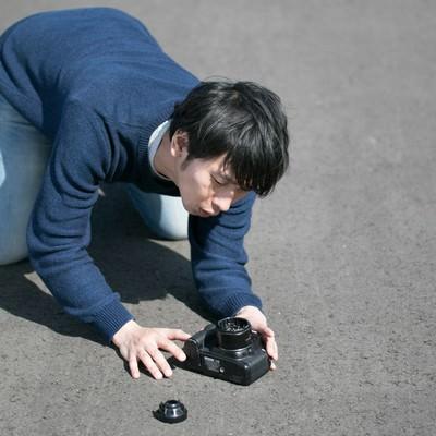 ストラップ忘れはカメラ破損のトラップの写真