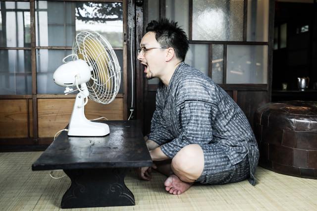 扇風機あ~~~~~~~~~~(ゴー)の写真
