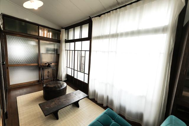 昭和レトロな室内の写真
