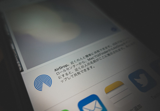 AirDrop。近くの人と簡単に共有できます。の写真
