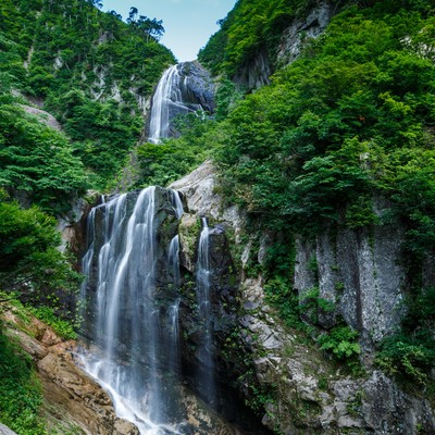 安の滝(中ノ又渓谷)の写真