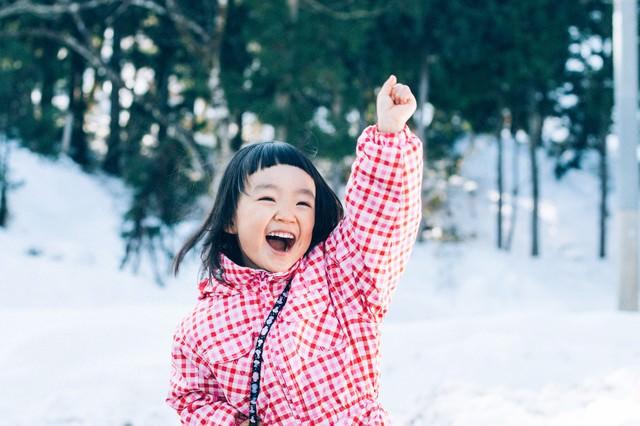 雪だるまつくるよー!の写真
