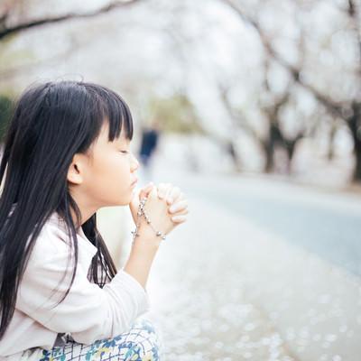 クリスチャンの女の子の写真