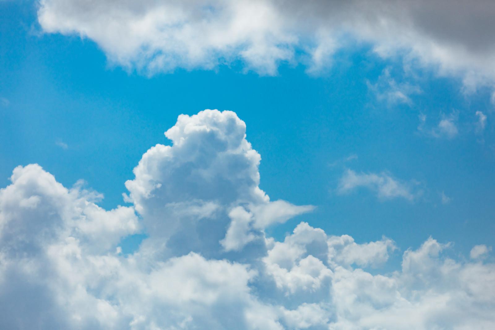 「真夏の積乱雲真夏の積乱雲」のフリー写真素材を拡大