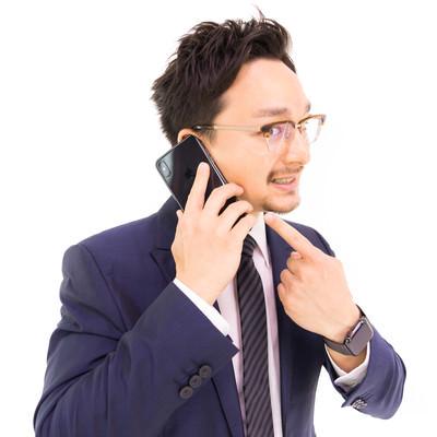 「このスマートフォンですか? iPhone XS Max です」の写真