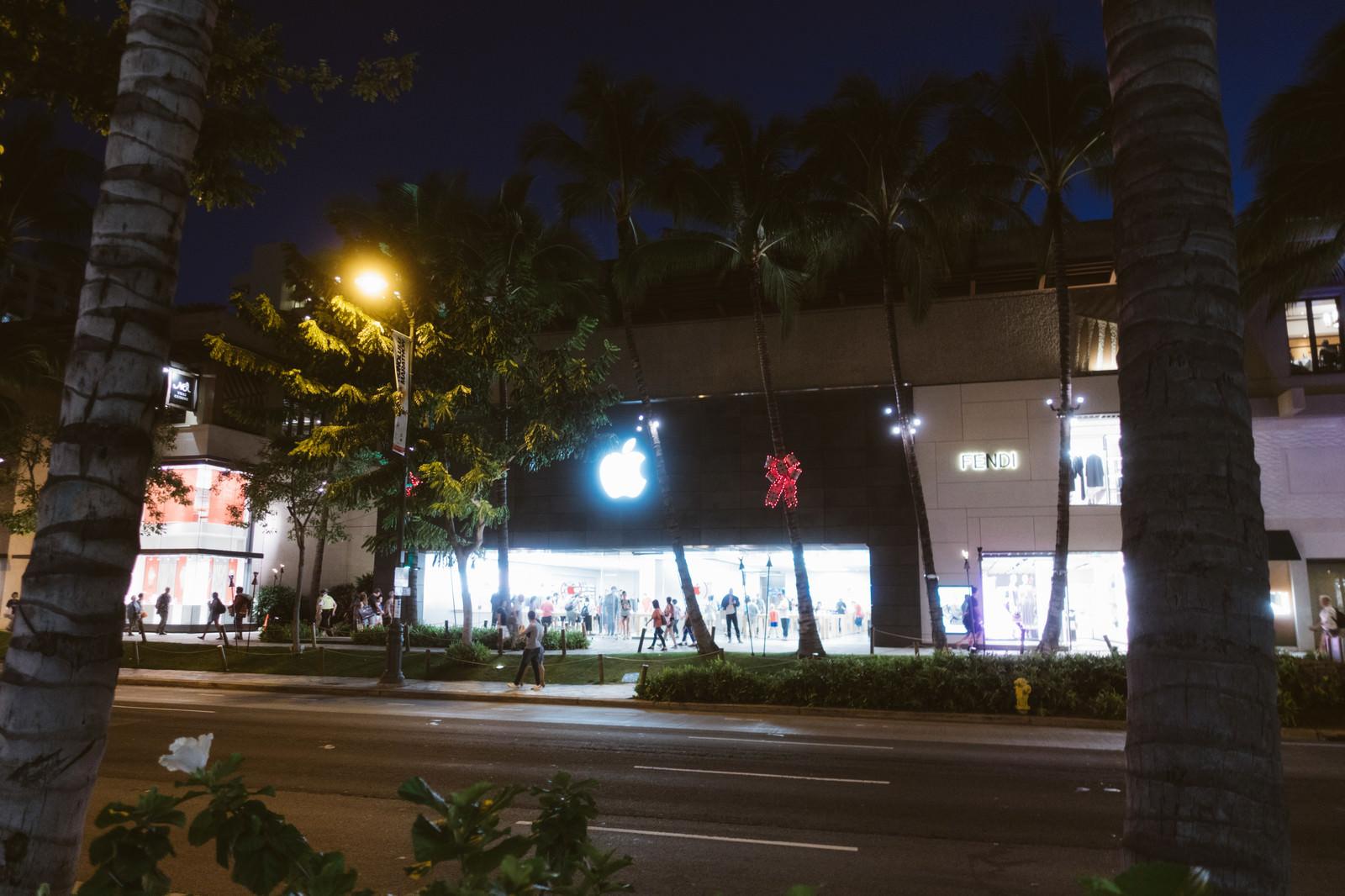 「アップル・ロイヤル・ハワイアンの外観」の写真