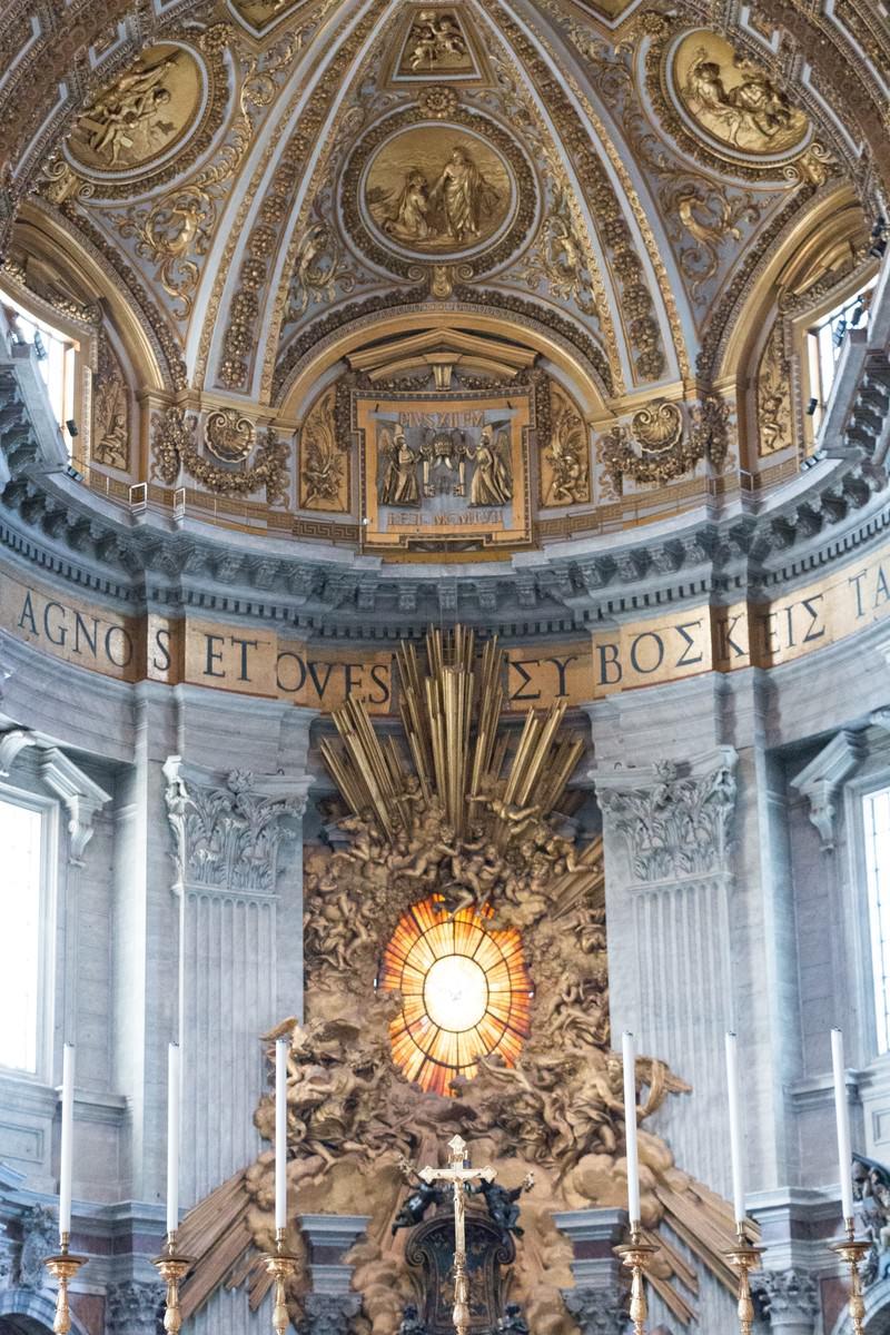 「黄金の装飾(サン・ピエトロ大聖堂)」の写真