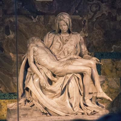 ピエタ像(サン・ピエトロ大聖堂)の写真
