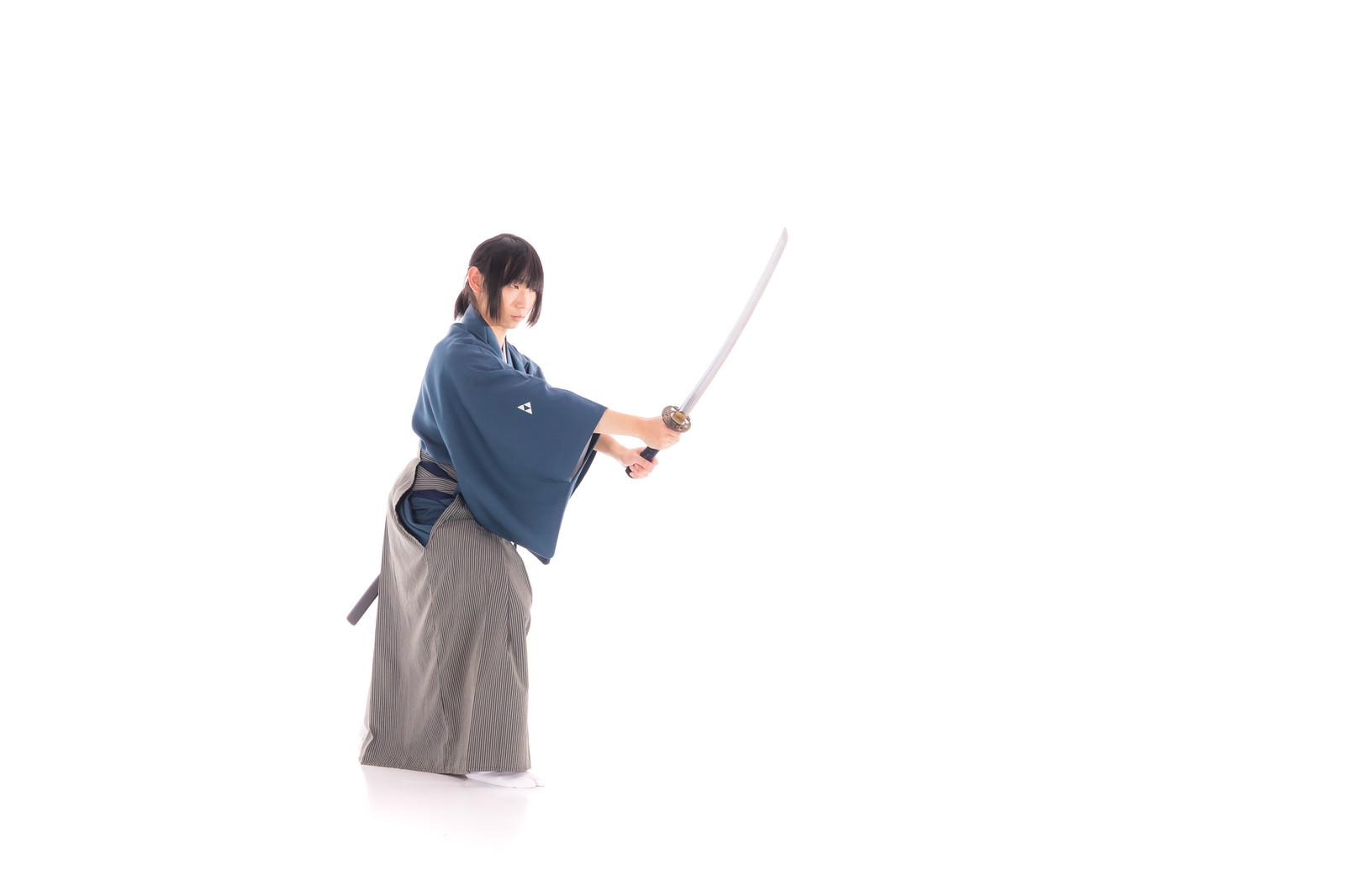「ポニーテール侍」の写真[モデル:まーこ]