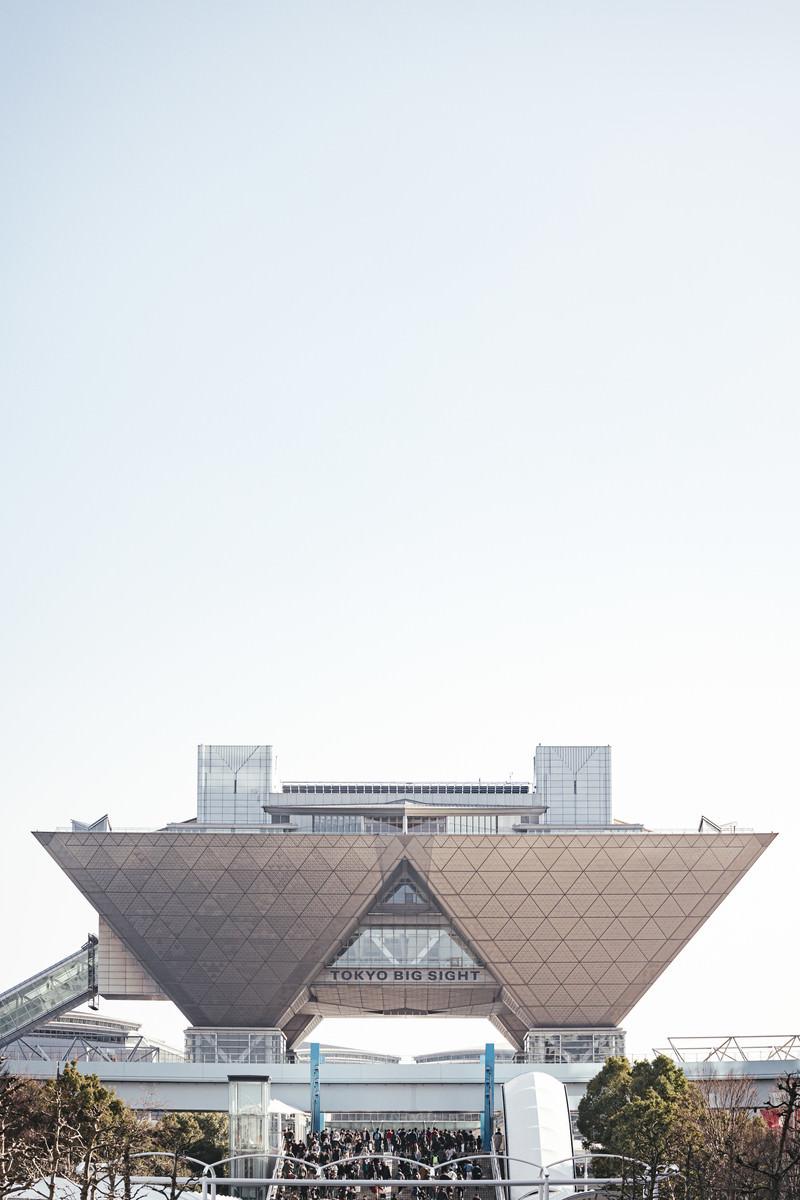 「東京ビッグサイト前(国際展示場)」の写真