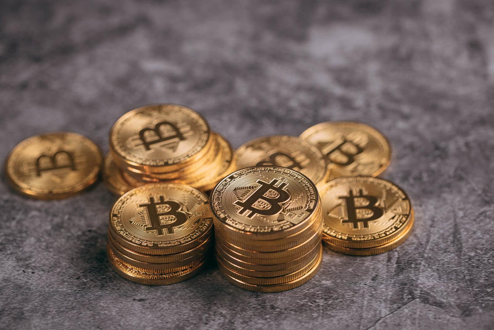 「買い集められたビットコイン」の写真