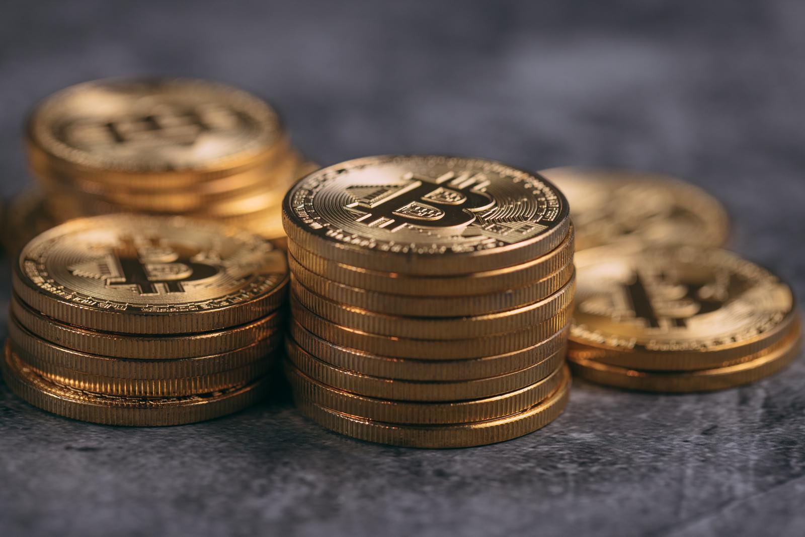 「BETされたビットコイン」の写真